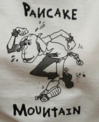 Pancake Mountain t-shirt